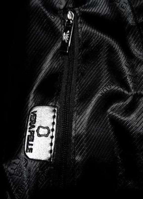 Кожаная изысканная сумка daniela moda vera pelle - Фото 5