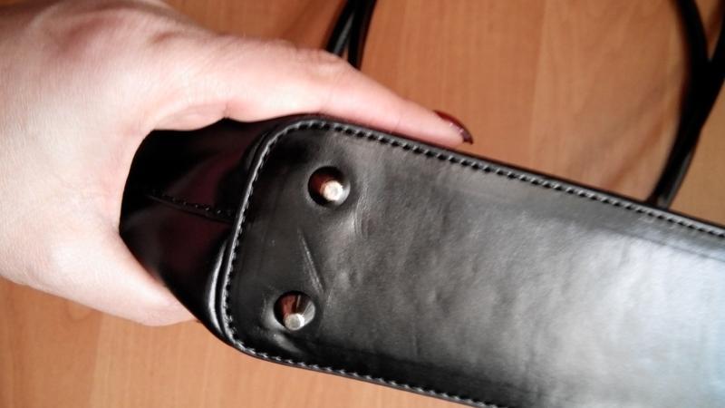 Кожаная изысканная сумка daniela moda vera pelle - Фото 6