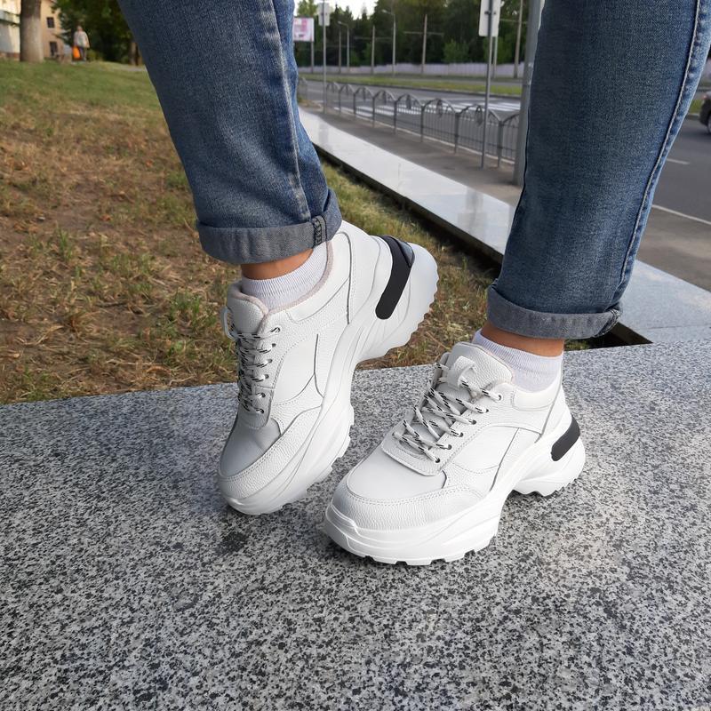 Кроссовки (ботинки) кожаные утепленные,женские ™torsion