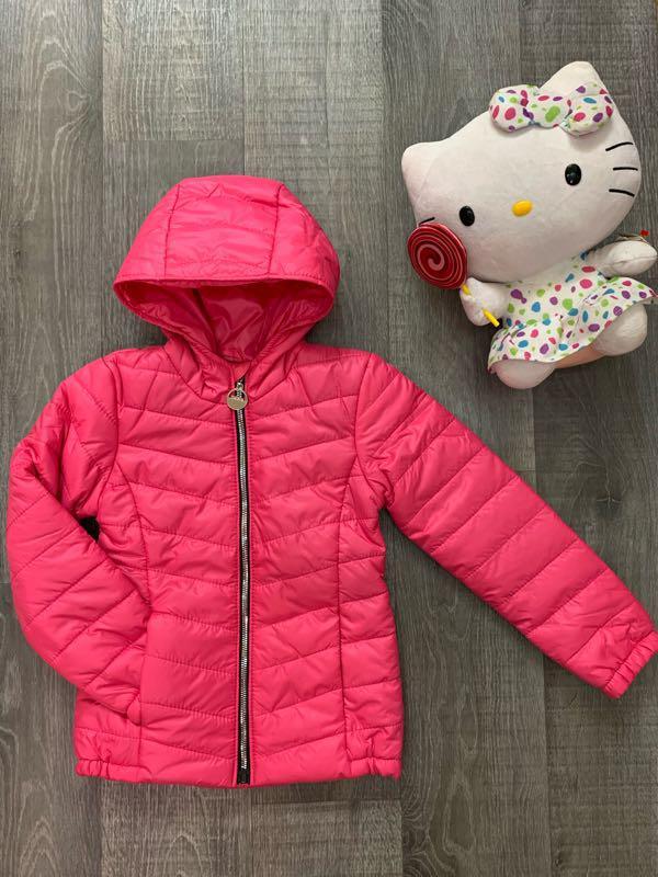 Детская демисезонная удлиненная куртка