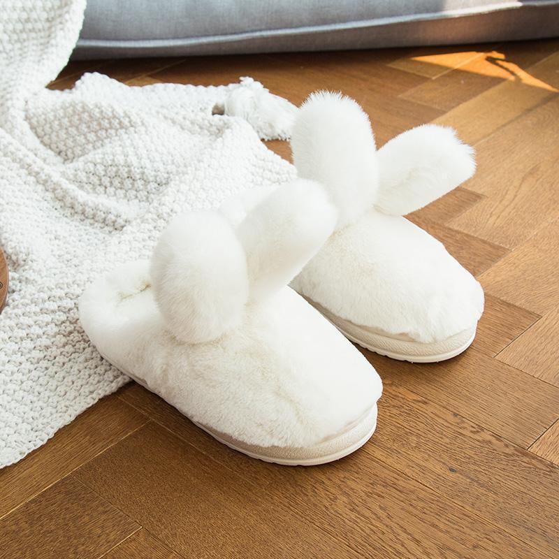Домашние тапочки зайчики