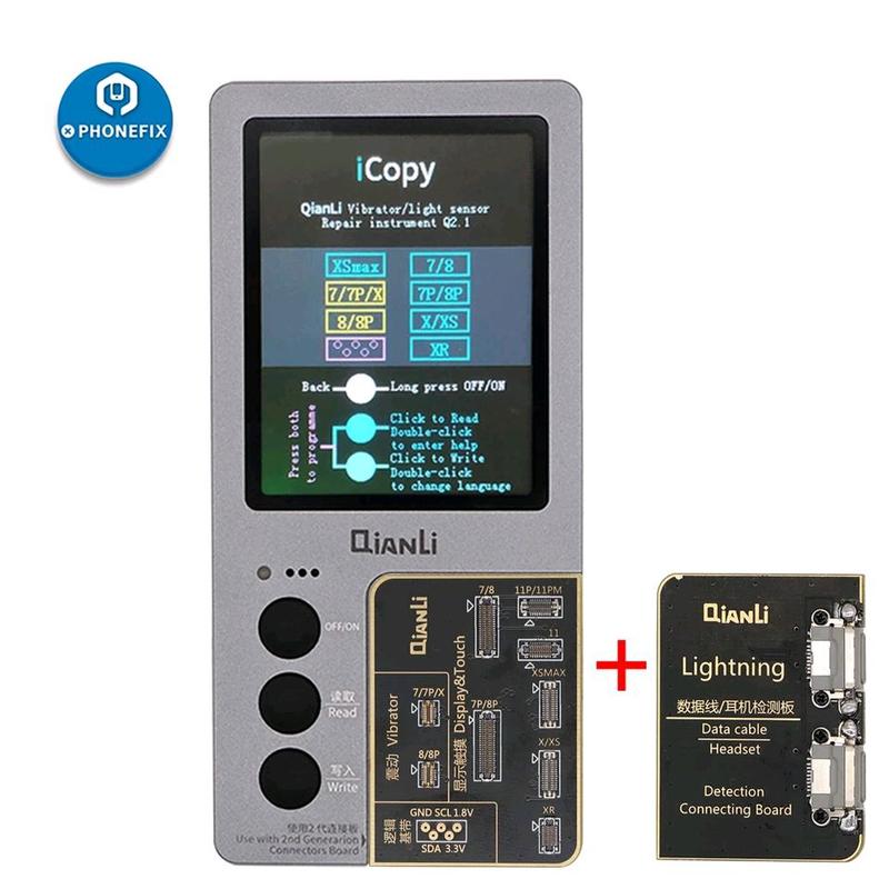 Программатор Qian Li iCopy Plus для дисплеев iPhone 7 | 7P | 8 |
