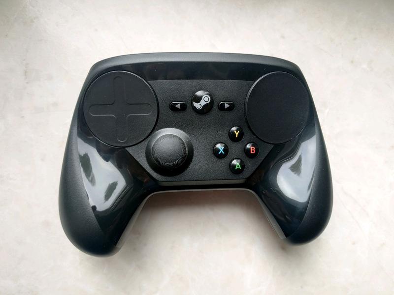 Steam Controller - Геймпад, джойстик, контроллер для ПК.