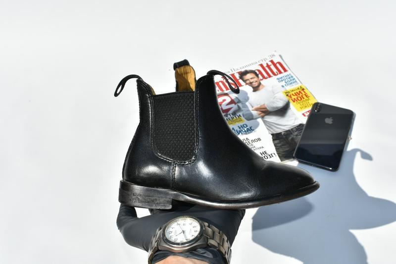 Loveson оригинал! детские ботинки для верховой езды туфли челс... - Фото 3