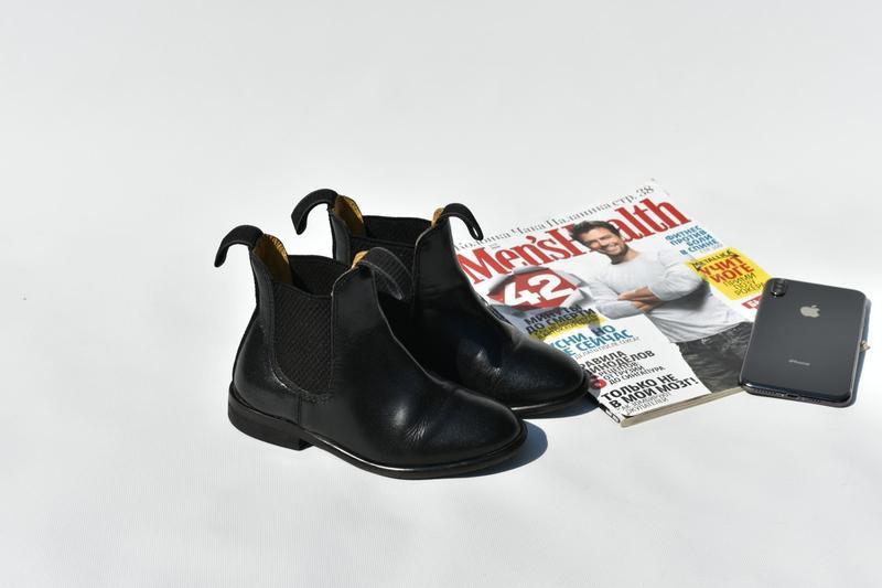 Loveson оригинал! детские ботинки для верховой езды туфли челс... - Фото 4