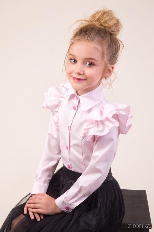 Блуза  для девочки zironka - Фото 2