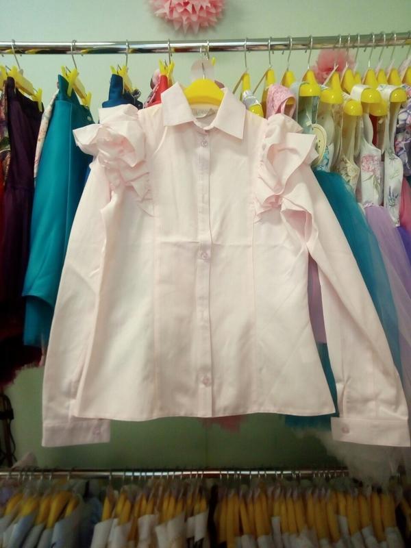 Блуза  для девочки zironka - Фото 4