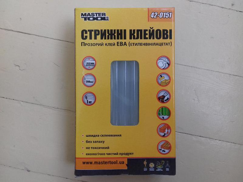 Стержни для пистолета, стержни клеевые, термоклей 11,2 мм, 1 кг