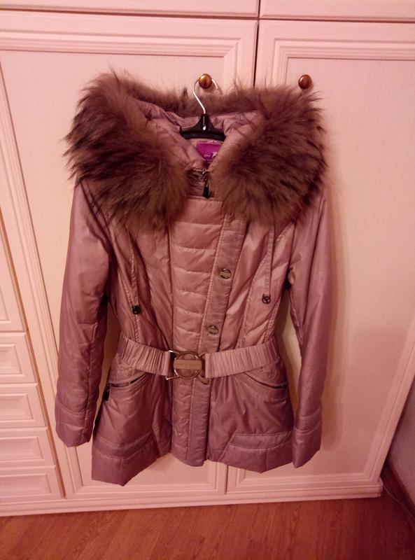 Куртка пуховик осень женская - Фото 2