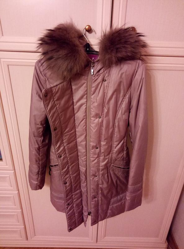 Куртка пуховик осень женская - Фото 3