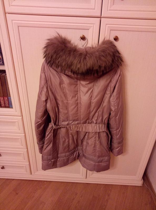 Куртка пуховик осень женская - Фото 4
