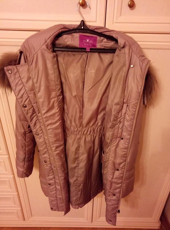 Куртка пуховик осень женская - Фото 5