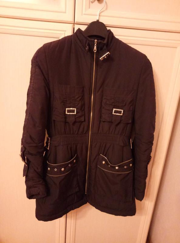 Куртка черная женская весна осень