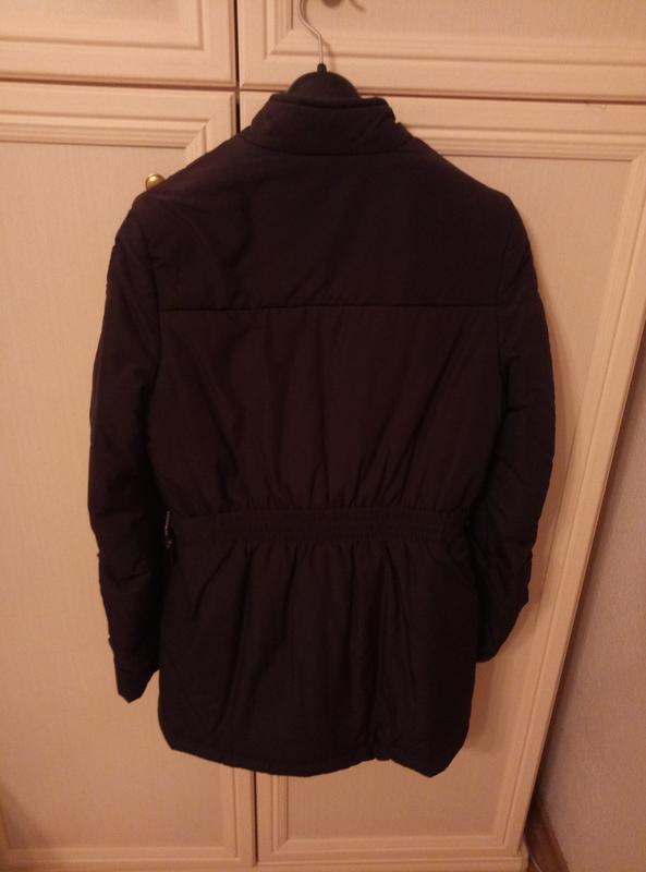 Куртка черная женская весна осень - Фото 4