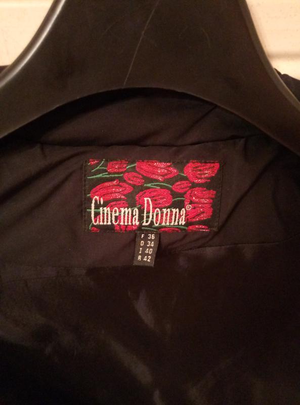 Куртка черная женская весна осень - Фото 5