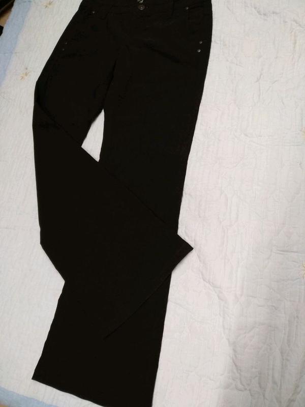 Черные брюки мужские, размер 42-44