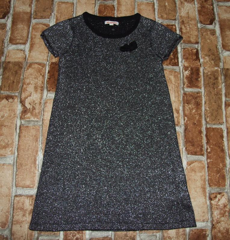 Платье нарядное 7-8 лет bluezoo сток