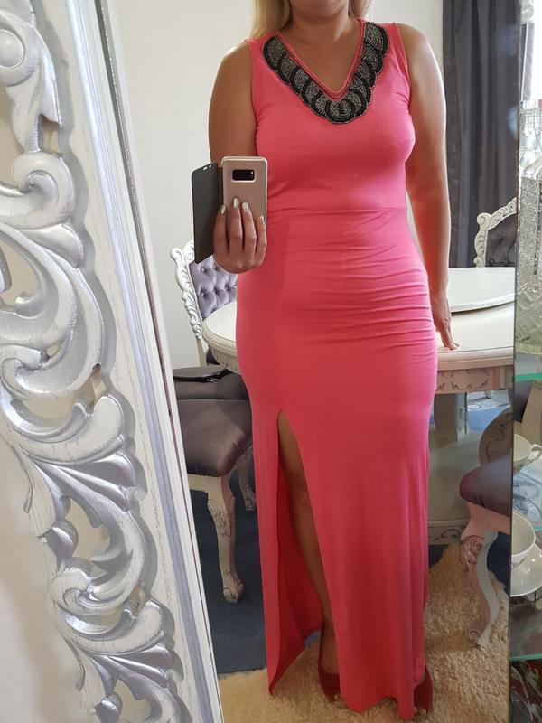 Вечернее платье в пол - Фото 2