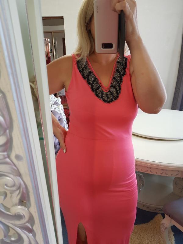 Вечернее платье в пол - Фото 3