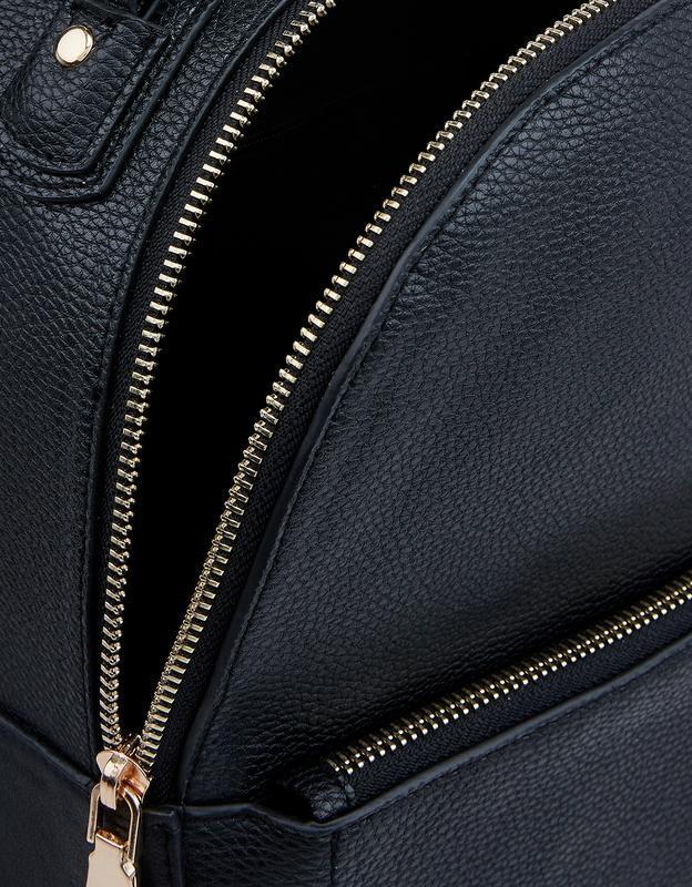 Рюкзак миди под тисненную кожу англия accessorize - Фото 7