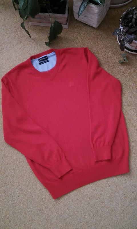 Стильный свитер с эмблемой дорого европейского бренда a.w. dun... - Фото 2