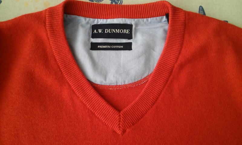 Стильный свитер с эмблемой дорого европейского бренда a.w. dun... - Фото 4