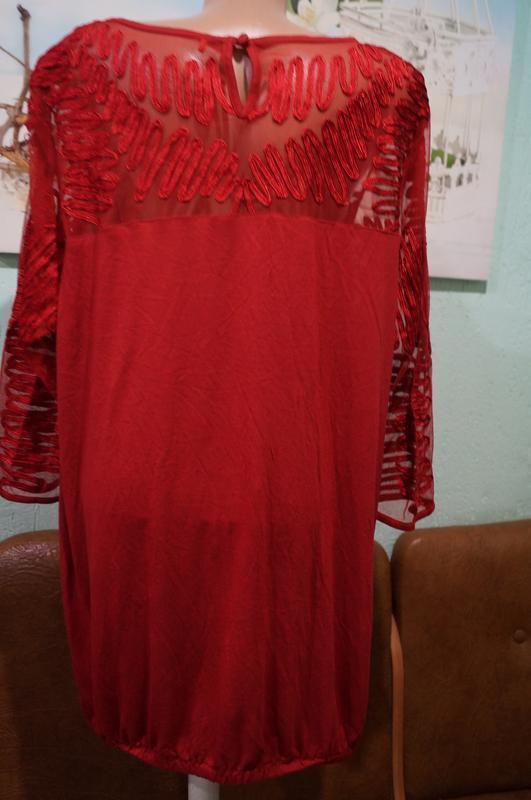 Блуза р.22,бренд next - Фото 4