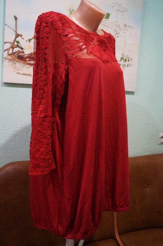 Блуза р.22,бренд next - Фото 5