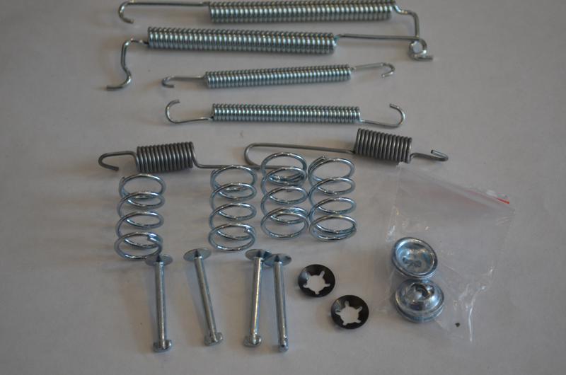Ремкомплект задних колодок QUICK BRAKE 105-0628, SFK115, LY1046