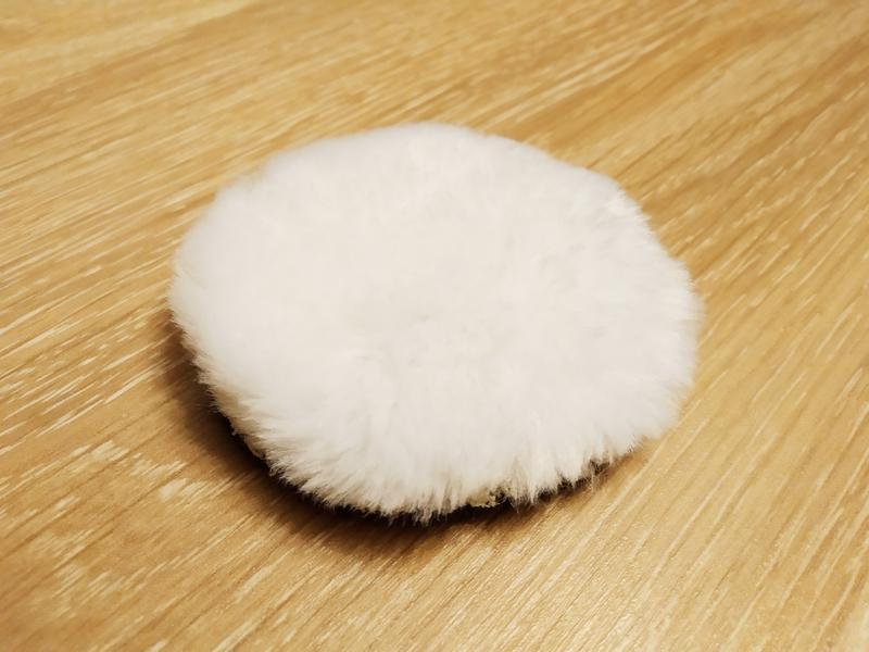 Круг полировальный 75 мм (полировочный мех, шерсть для полировки)