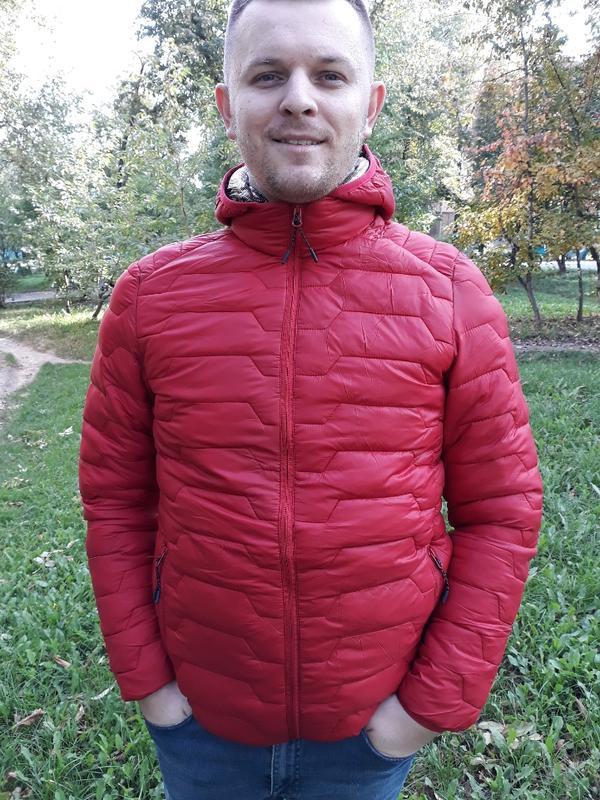 Стеганая мужская демисезонная куртка весна осень - Фото 2