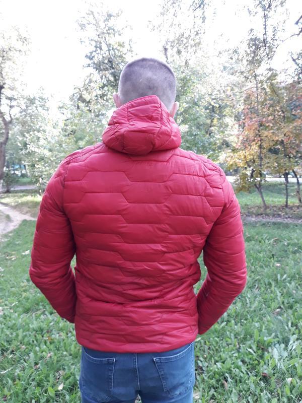 Стеганая мужская демисезонная куртка весна осень - Фото 4