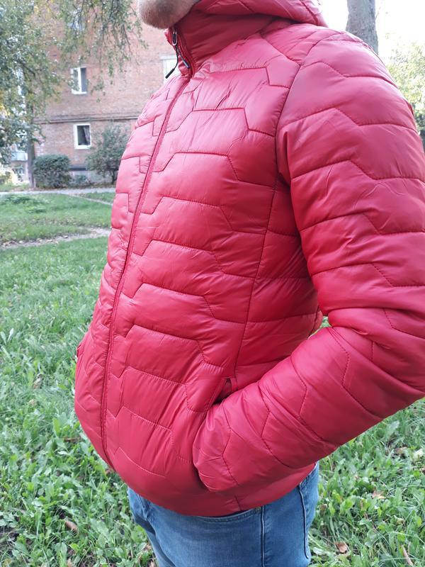 Стеганая мужская демисезонная куртка весна осень - Фото 5