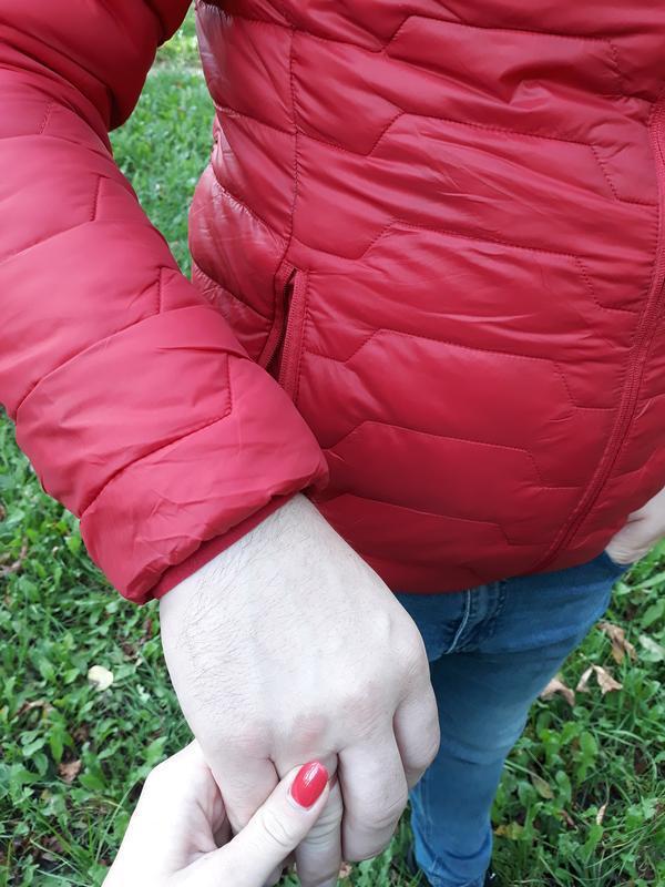 Стеганая мужская демисезонная куртка весна осень - Фото 6