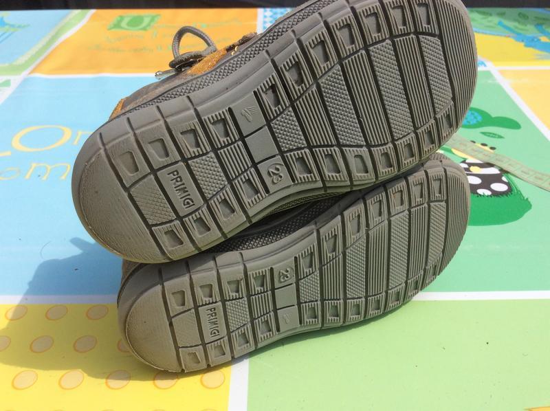 Фирменные ботинки primigi 23р., стелька 14,5 cм - Фото 2
