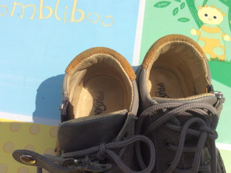 Фирменные ботинки primigi 23р., стелька 14,5 cм - Фото 3
