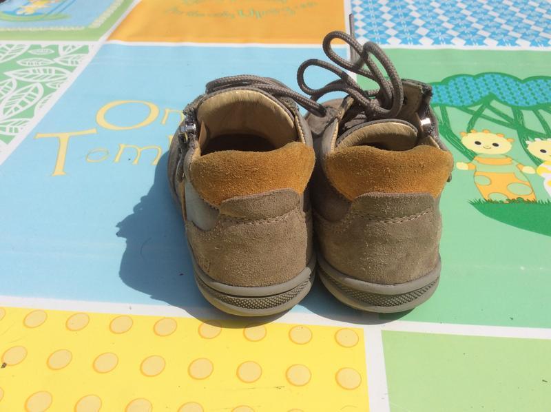 Фирменные ботинки primigi 23р., стелька 14,5 cм - Фото 4