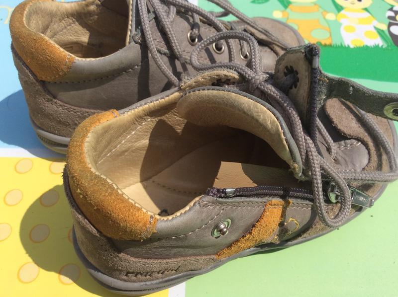 Фирменные ботинки primigi 23р., стелька 14,5 cм - Фото 5