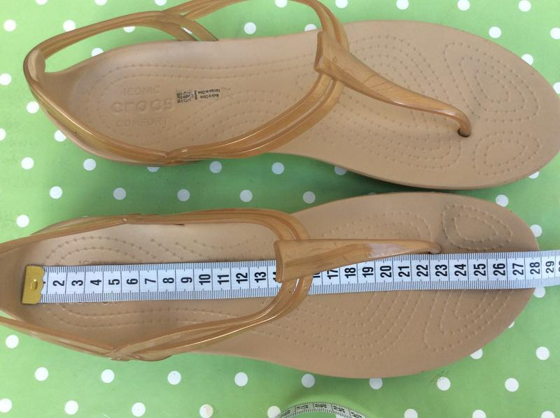 Босоножки crocs iconic comfort 41-42 p - Фото 4