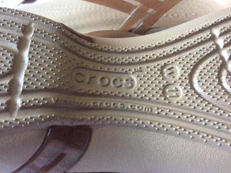 Босоножки crocs iconic comfort 41-42 p - Фото 5