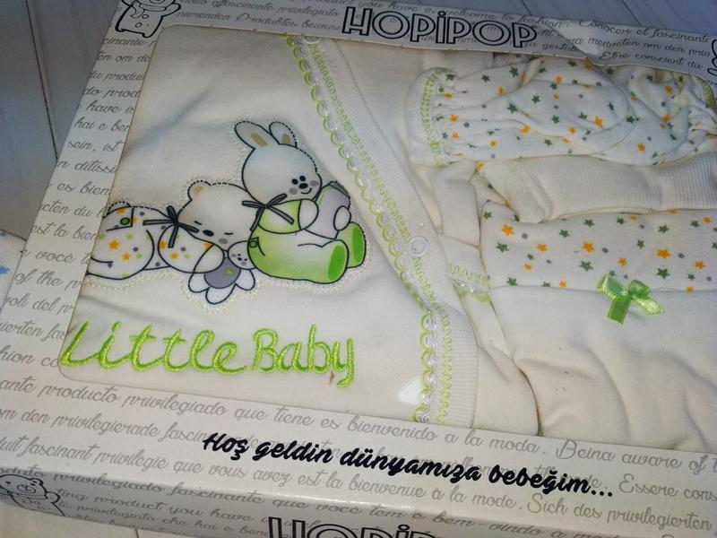 Подарунковий набір для новонароджених