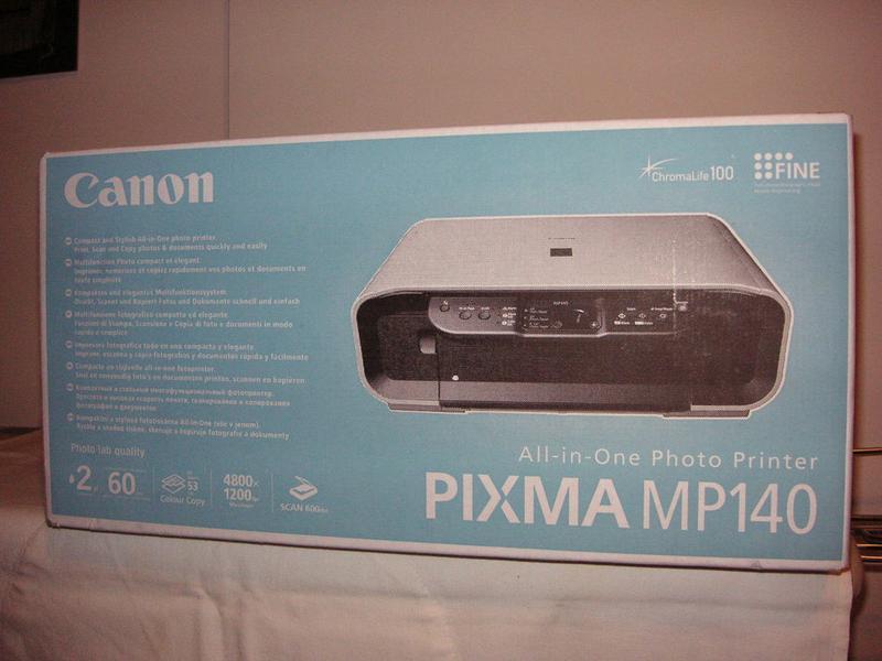 Canon Pixma-mp 140