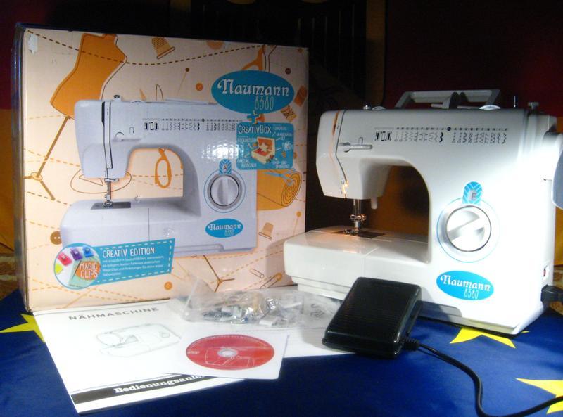 Швейная машина Naumann 8380,новая,гарантия,Германия