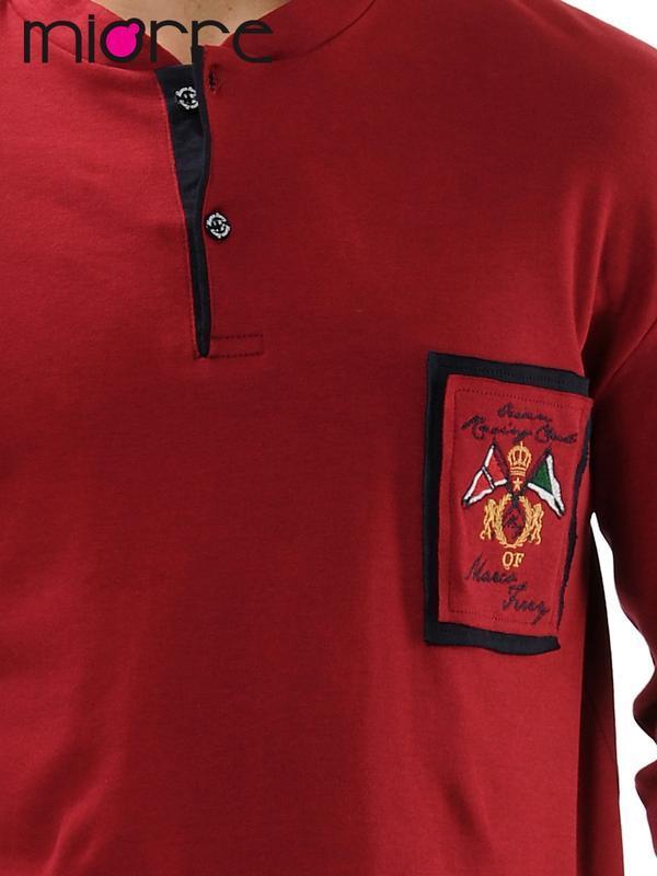Miorre пижама мужская с длинным рукавом - Фото 5