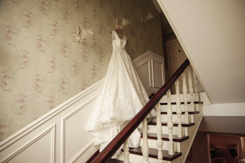 Пышное свадебное платье от Alberta Ferretti в отличном состоянии - Фото 2