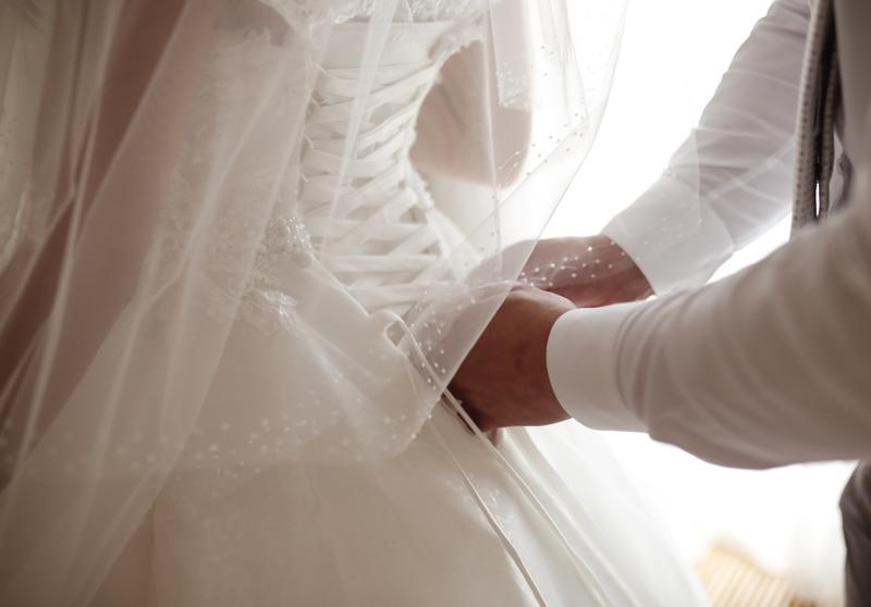 Пышное свадебное платье от Alberta Ferretti в отличном состоянии - Фото 6