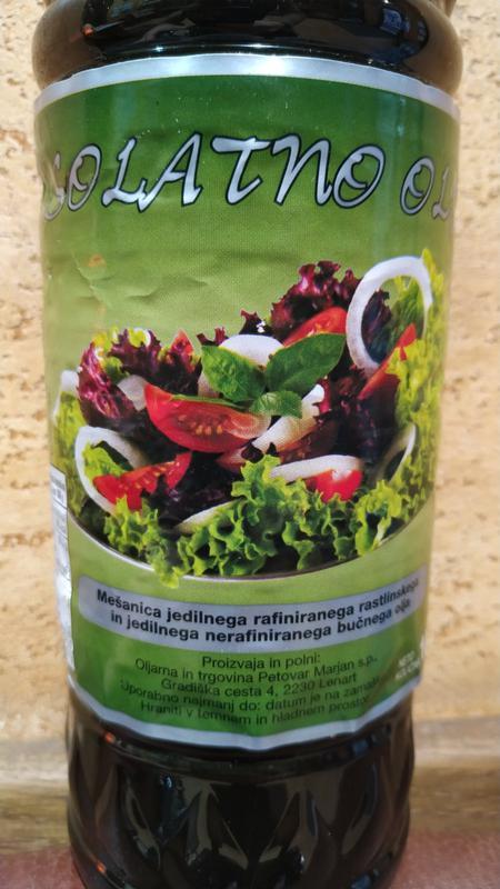 Масло тыквы Solatno olje витамины ЦИНК тыква и подсолнух 1литр - Фото 2