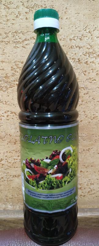 Масло тыквы Solatno olje витамины ЦИНК тыква и подсолнух 1литр