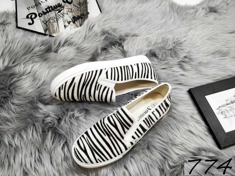 Новиночка слипоны зебра - Фото 2