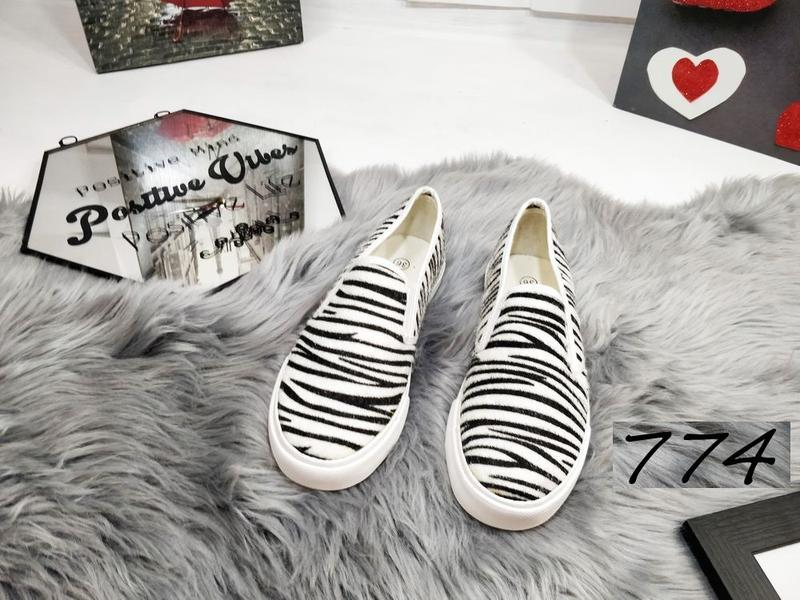 Новиночка слипоны зебра - Фото 3